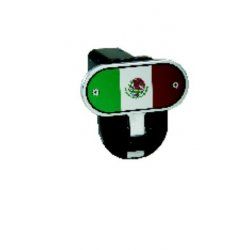 DefenderWorx - 10403 - Mexican Flag - Image Line - 2 Inch Fold Down Step Hitch