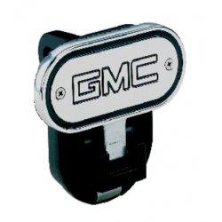 DefenderWorx - 10503 - GMC - Inscribed GMC - Black - 2 Inch Fold Down Step Hitch