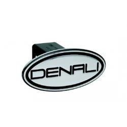 DefenderWorx - 41003 - GMC - Denali - Black - Oval - 2 Inch Billet Hitch Cover