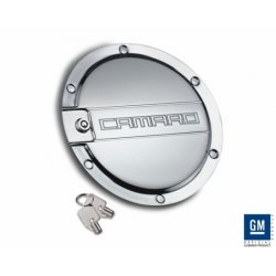 DefenderWorx - CC-1006 - Fuel Door Chrome