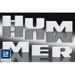 DefenderWorx - H2PPC05026 - Hummer H2 BUMPER LETTER INSERTS (6)