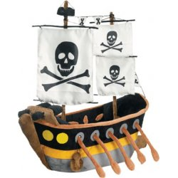 JooJoo - 26323 - JooJoo Plush 16 Inch Pirate Ship
