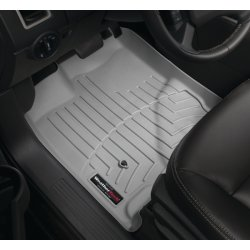 WeatherTech - 46161-1-2 - 2008 - 2011 Mercedes-Benz C-Class Grey 1st & 2nd Row FloorLiner