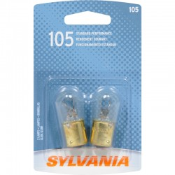 Osram - 105.BP2 - SYLVANIA 105 Basic Miniature Bulb, (Pack of 2)