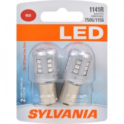 Osram - 1141RSL.BP2 - SYLVANIA 1141 Red LED Bulb (Pack of 2)