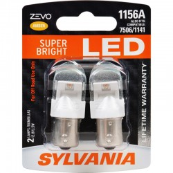 Osram - 1156ALED.BP2 - SYLVANIA ZEVO 1156 Amber LED Bulb (Pack of 2)