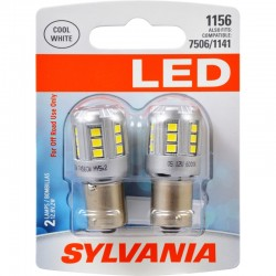 Osram - 1156SL.BP2 - SYLVANIA 1156 White LED Bulb (Pack of 2)