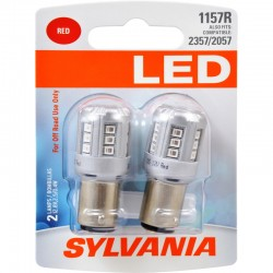 Osram - 1157RSL.BP2 - SYLVANIA 1157 Red LED Bulb (Pack of 2)