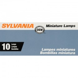 Osram - 1076.TP - SYLVANIA 1076 Basic Miniature Bulb, (Pack of 10)