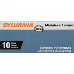 Osram - 168.TP - SYLVANIA 168 Basic Miniature Bulb, (Pack of 10)