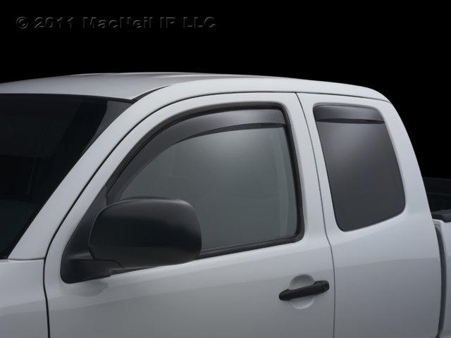 WeatherTech - 84500 - 2009 - 2012 Audi A4/S4/RS4 Dark Side Window Deflector Complete Set at Sears.com