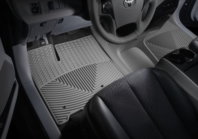 WeatherTech - W318GR-W319GR - 2014 Chevy Impala Grey All Weather Floor Mats Rows 1 2 at Sears.com