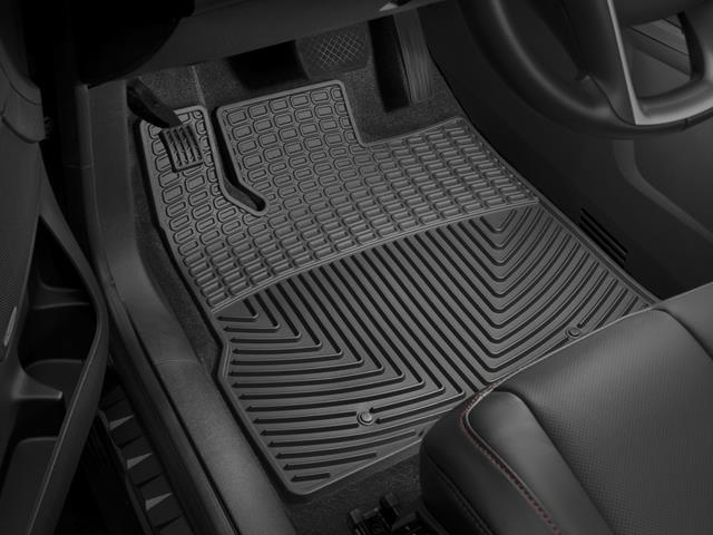 WeatherTech - W298-W302 - 2013 - 2014 Nissan Pathfinder Black All Weather Mats Rows 1 2 at Sears.com
