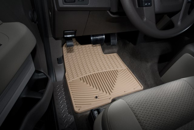 WeatherTech - MB X204 4R T - 2013 Mercedes-Benz GLK-Class Tan All Weather Floor Mats Rows 1 2 at Sears.com