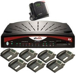 Allworx - 8200004-8 - Allworx 6x Small Business IP PBX System, 8 User Bundle