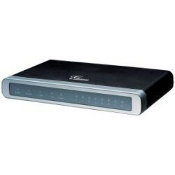 Grandstream - GXW4004 - Grandstream GXW4004 VoIP Gateway - 2 x RJ-45 - 4 x FXS - Management Port - Fast Ethernet - Desktop, Wall Mountable