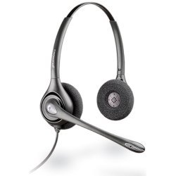 Plantronics - 75101-01 - Plantronics Plantronics Supraplus HW261N Binaural Headset - Wired Connectivity - Stereo - Over-the-head