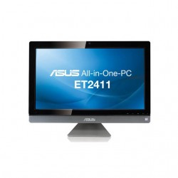 Asus - ET2411IUKI-07 - Asus ET2411IUKI-07 23.6 inch Intel Core i3-2130 3.4GHz/ 6GB DDR3/ 1TB HDD/ DVDRW/ Windows 8 All-in-One PC (Dark Gray Chrome)