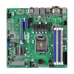 ASRock - H97M WS - ASRock Rack H97M WS LGA1150/ Intel H97/ DDR3/ SATA3&USB3.0/ M.2/ A&2GbE/ MicroATX Server Motherboard