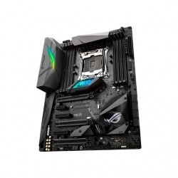 Asus - STRIX X299-E GAMING - Asus STRIX X299-E GAMING LGA2066/ Intel X299/ DDR4/ Quad CrossFireX & Quad SLI/ SATA3&USB3.1/ M.2/ WiFi/ A&GbE/ ATX Motherboard