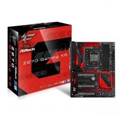 Asrock - Fatal1ty Z270 Gaming K6 - Asrock Fatal1ty Z270 Gaming K6 Lga1151/ Intel Z270/ Ddr4/ Quad Crossfirex & Quad Sli/ Sata3&usb3.1/ M.2/ A&2gbe/ Atx Motherboard