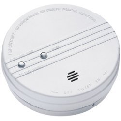 Kidde Fire and Safety - 0916KCA - Kidde Smoke Alarm with Hush - Ionize - White