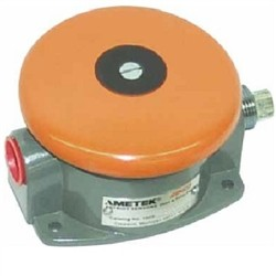 Ametek - 1025-D-1DP - Ametek Gemco 1025D Switch 1025-D-1DP, Foot Switch: Heavy Duty NEMA 1 Mushroom Button Switch, Switch Valve: 1 Contact Block 1 DPDT (2 NO -2 NC)