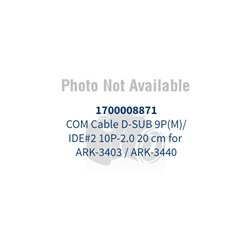 Advantech - 1700008871 - 1700008871 - Advantech 1700008871 COM Cable D-SUB 9P(M)/IDE#2 10P-2.0 20 cm for ARK-3403 / ARK-3440