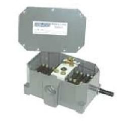 Ametek - 2006-402-L-270-B - Ametek Gemco 2006 Type K Rotary Limit Switch 2006-402-L-270-B, Enclosure: NEMA 4, Shaft Extension: Left Hand, Gear Ratio: 270 to 1, Switch: 1-DPDT, Balance SPDT