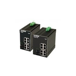 Red Lion Controls - 709FX-SC - 709FX-SC - N-Tron 9 Port (8 10/100BaseTX, 1 100BaseFX Fiber Uplink) Fully Managed Industrial Ethernet Switch, DIN-Rail (Multimode, SC Style Connector, 2km)