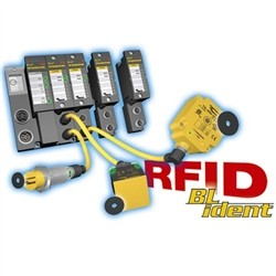 Turck - M6947214 - BST-18B - Turck BL ident RFID Mounting block with mechanical lock for cylindrical sensors 18 mm (M6947214)