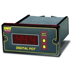 Dart Controls - DP4-9 - DP4-9 - Dart Controls Dual Voltage Digital Speed Display with blank lexan for AC or DC drives