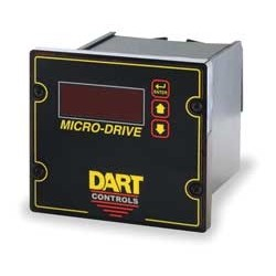 Dart Controls - MD3P-9 - MD3P-9 - Dart Controls 1/4 Din 1/4 - 2HP dual voltage closed look microprocessor based motor speed control Blank Lexan faceplate