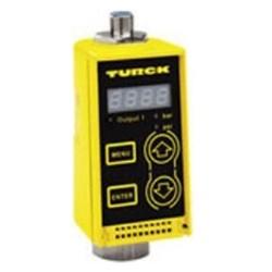 Turck - M6831065 - PC001V-Gi1/4A1M-ARX-B1151 - Turck PC Series Pressure Sensor, Die Cast Zinc Housing, AC Relay Output, Quick Disconnect, Range (-14.5 to 0 psi) (M6831065)