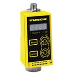 Turck - M6831077 - PC600-Gi1/4A1M-ARX-B1151 - Turck PC Series Pressure Sensor, Die Cast Zinc Housing, AC Relay Output, Quick Disconnect, Range (0 to 8700 psi) (M6831077)