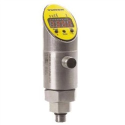 Turck - M6832290 - PS01VR-503-LUUPN8X-H1141 - Turck Pressure Sensor, Rotatable Housing, NPT male thread, 1 voltage output and 1 switching output, range (-14.5 to 0 psi) (M6832290)