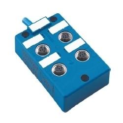 Turck - U0173-37 - VB 4X1N-CS12 - Turck NAMUR 4-Port Junction Box, Isolated Circuit, Multifast 12-Pin Quick Disconnect (U0173-37)