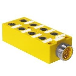 Turck - U7031 - Turck VB 80-CS12, 8-port J-box; 1 signal per port; multifast connector (U7031)