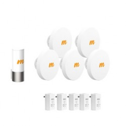 Mimosa Networks - A5-14-KIT - Mimosa 4.9GHz - 6GHz PtMP Link Starter Kit with 14dBi Beam Forming Access Point