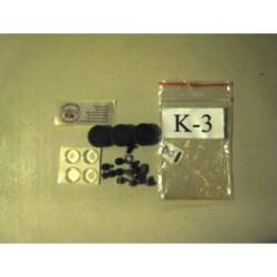 MikroTik - ACK-3 - MikroTik Case Assembly Screw Pack