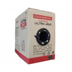 Primus Cable - C5CMXR-1063BK - Primus CAT5e 350MHz Cable Indoor/Outdoor Unshielded CMX/CMR - 1000 Ft. Black (pull-out box)