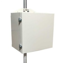 Tycon Power Systems - ENC-STL-24X24X16 - Tycon Power Weatherproof Steel Outdoor Enclosure - 24 x 24 x 16