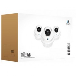 Ubiquiti Networks - EOL_UVC-DOME-3 - Ubiquiti UniFi 720P Indoor IP Dome Video Camera with Infrared 3-Pack ***EOL***