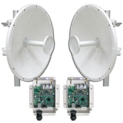 Maxxwave - MTK-5GLRPTP-PS - Maxxwave 4.9GHz PtP Backhaul Link Starter Kit for Public Safety Powered by MikroTik