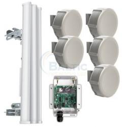 MikroTik - MTK-5GMRPTMP_SXT - MikroTik 5GHz PtMP Link Starter Kit with a Sector Antenna
