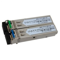 Maxxwave - MW-1315-WDM-SM-PAIR - Maxxwave Single-Mode DDM SFP Fiber Module Pair
