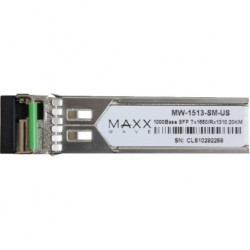 Maxxwave - MW-1513-SM-US - Maxxwave Single-Mode DDM SFP Fiber Module TX1550nm/RX1310nm