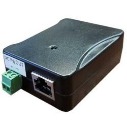 Tycon Power Systems - POE-INJ-1000-WT - Tycon Power Gigabit PoE Injector / Splitter 5-58VDC 130W (pinout 1245+, 3678-)