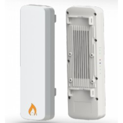 IgniteNet - SF-AC1200 - IgniteNet SkyFire AC1200 Dual-Band Outdoor AP/CPE/PTP w/ Integrated 18dBi 5GHz Antenna + 2x RP-SMA (2.4GHz)