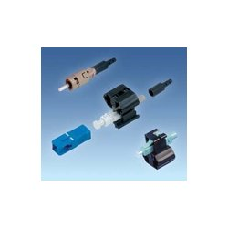 AFL Telecommunications - FASTSCMM50L6 - AFL Telecommunications FASTSCMM50L Multimode FAST-SC Connector for 50/125 OM3/OM4 Fiber